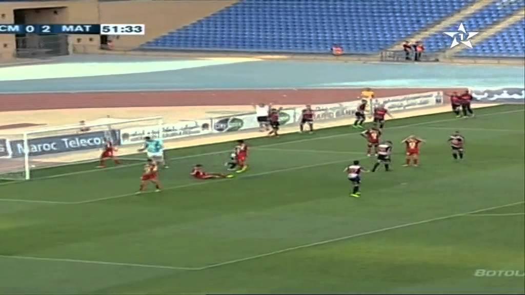 الكوكب المراكشي 1 - 3 المغرب التطواني