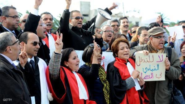 جمعية القضاة التونسيين يخوضون اضرابا عاما يومي 28 و29 ابريل
