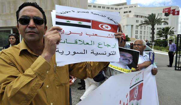 تونس تستأنف علاقاتها مع دمشق