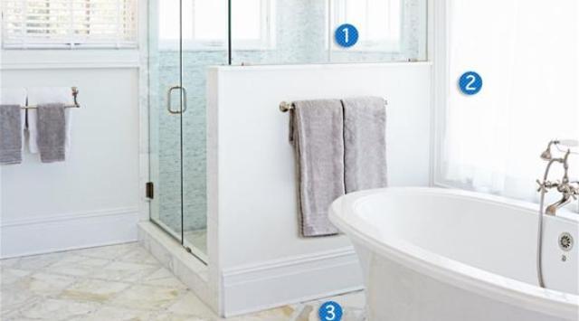 3 تعديلات بسيطة ومريحة لديكور حمامك