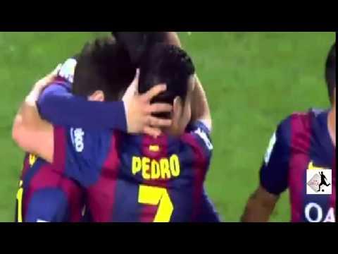 برشلونة وألميريا 4-0
