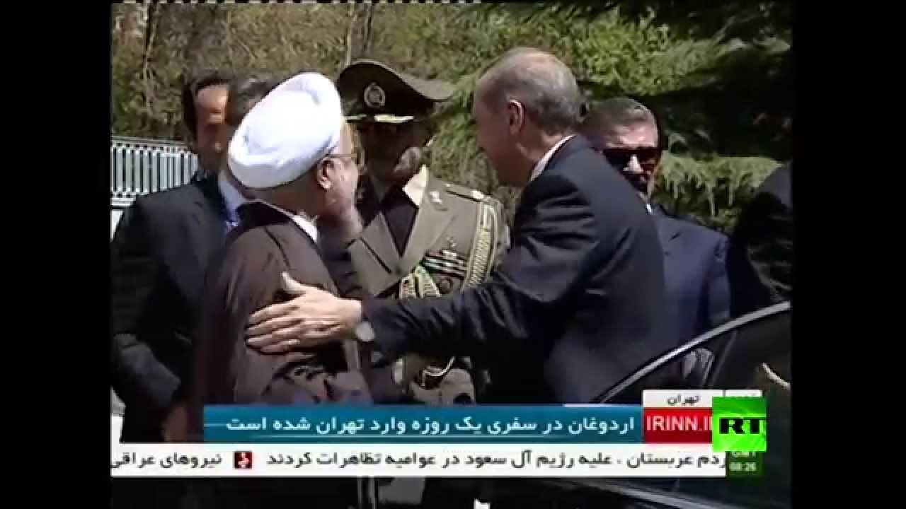 روحاني يستقبل أردوغان بطهران