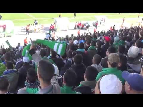 جماهير الرجاء تتغنى بالجمهور الجزائري قبل لقاء سطيف