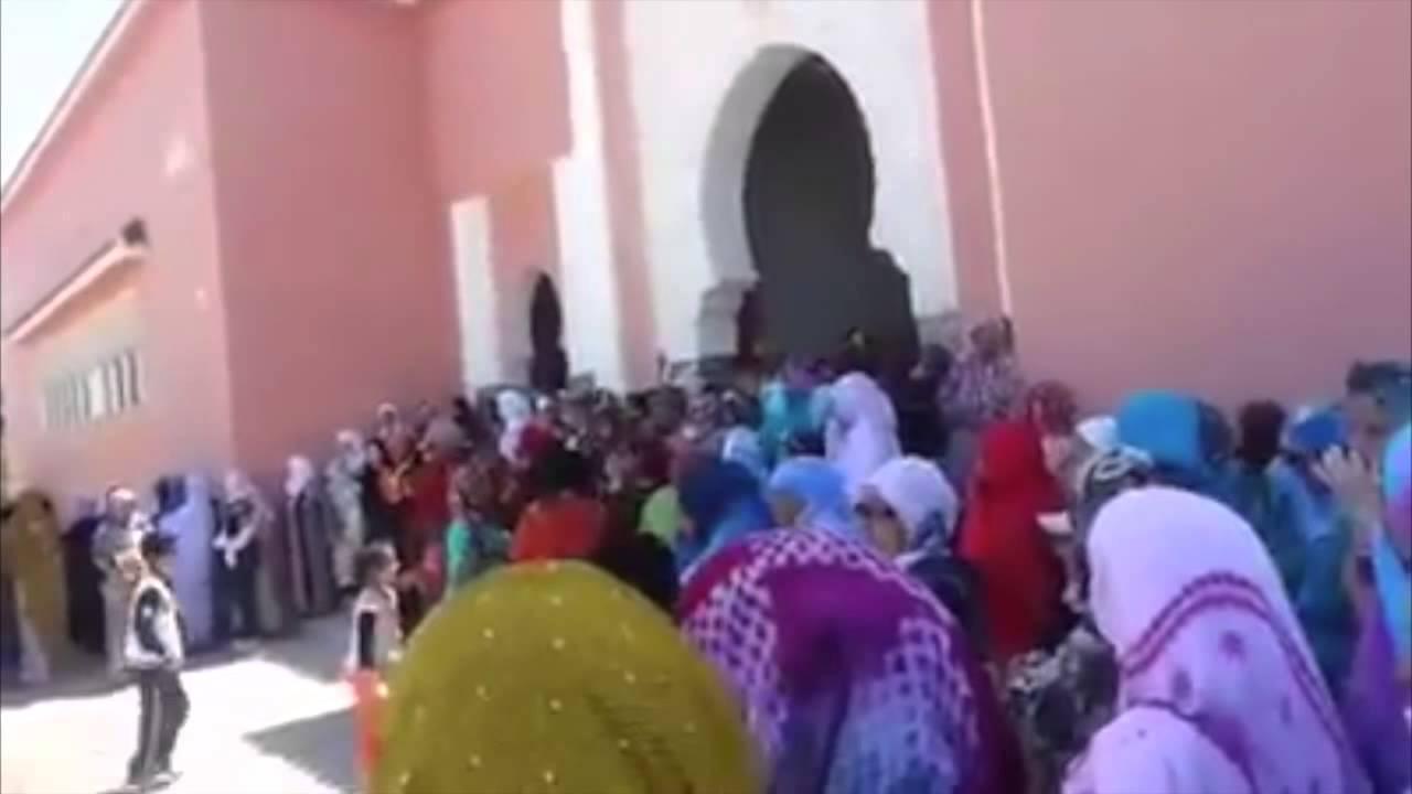 جنازة ضحايا فاجعة طنطان