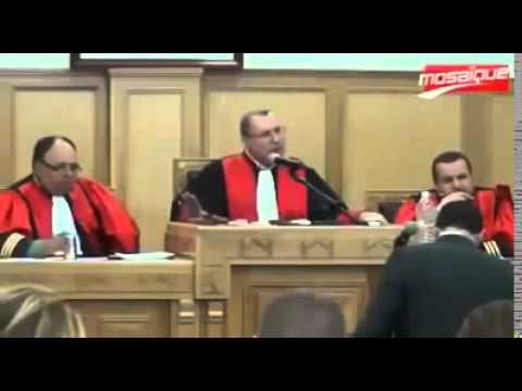 سمير الوافي يفقد أعصابه و يثور في وجه القاضي عند استجوابه