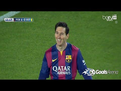 برشلونة وخيتافي 6-0