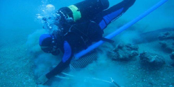 حفريات خاصة بسفينة غارقة قبالة سواحل المنستير بتونس