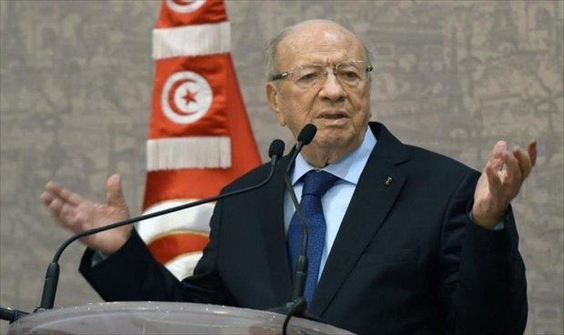 السبسي:تدهور الاوضاع في ليبيا كلّّف تونس 5.7 مليار دولار