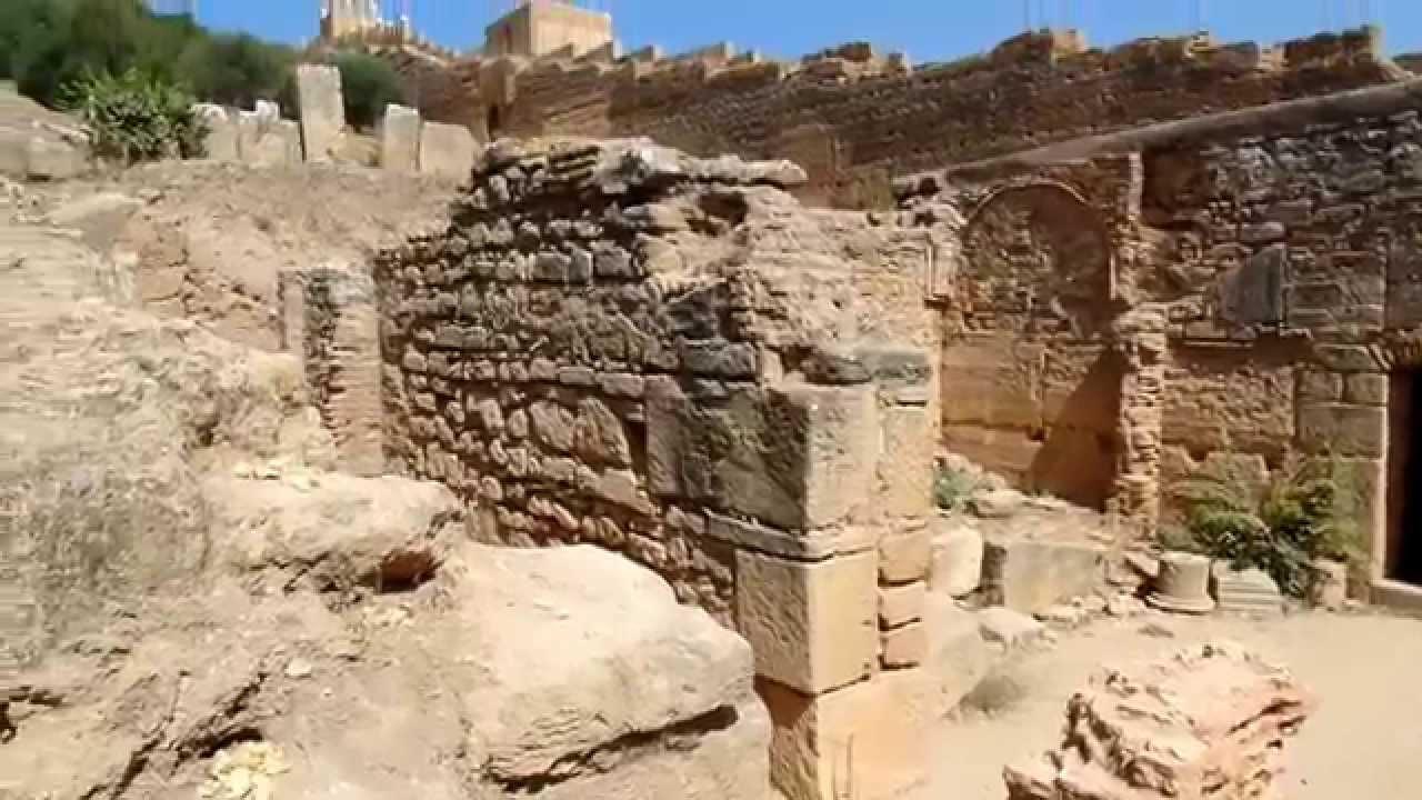 في شالة..الموقع الأثري بالرباط