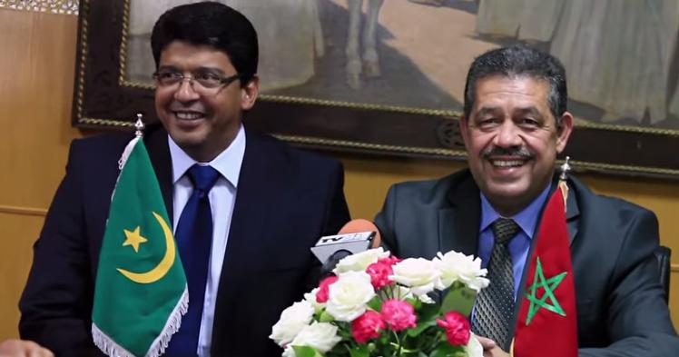 حزب الاتحاد الحاكم يعيد العلاقات الموريتانية المغربية للواجهة