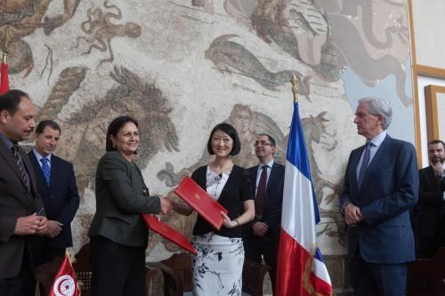 توقيع اتفاقية بين فرنسا وتونس تخص مجال المتاحف والحفاظ على القطع الأثرية