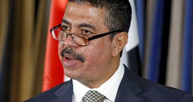بحاح يأمل بأن لا يكون هناك تدخل بري في اليمن