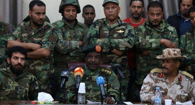 ليبيا: قوات حفتر تمهد لاقتحام مدينة غريان