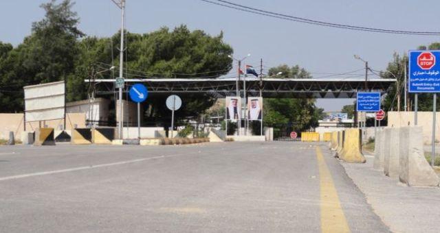 إغلاق المعابر الحدودية بين سوريا والأردن