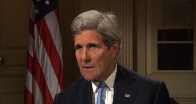 كيري يجدد دعم واشنطن للسعودية ضد إيران والحوثيين
