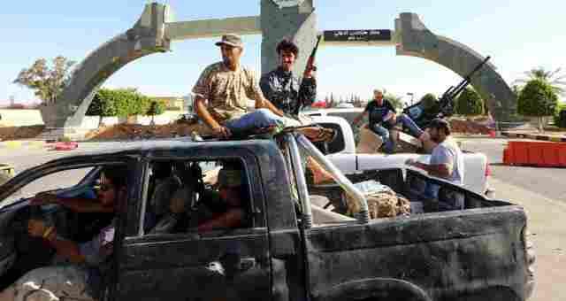 إعلان العزيزية منطقة مسلحة بعد هجوم قوات حفتر