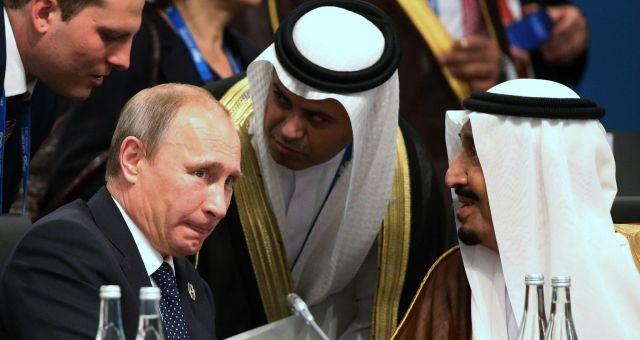 الملك سلمان يهاتف بوتين بخصوص اليمن