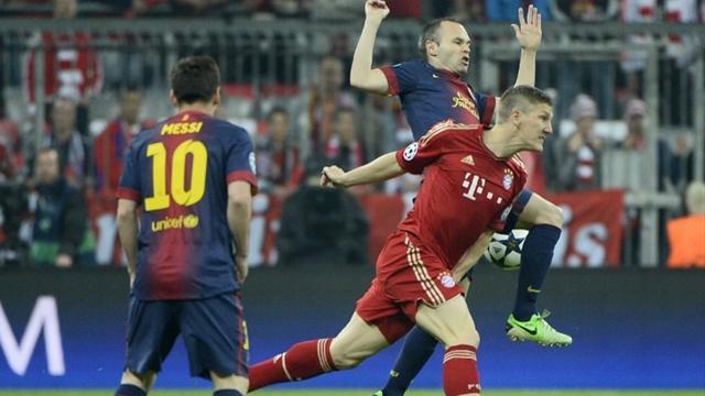 برشلونة والبايرن يعبران لنصف نهائي دوري الأبطال