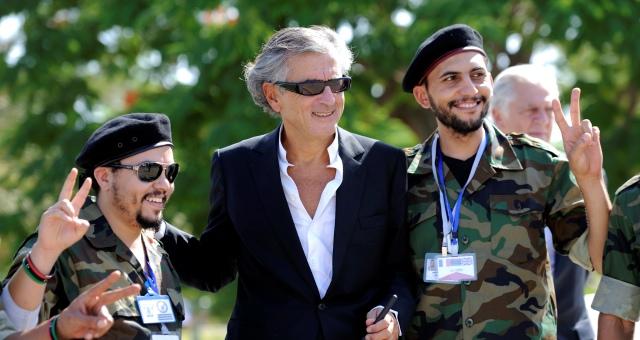 هنري ليفي غير نادم على التدخل العسكري في ليبيا