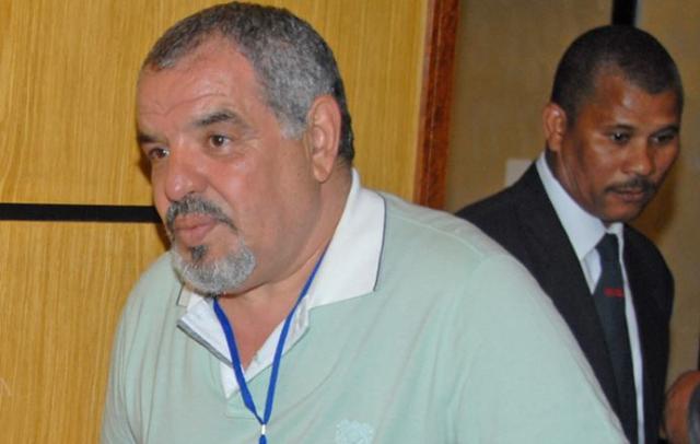 رشيد البوصيري بالجزائر لتهيئ إقامة الرجاء