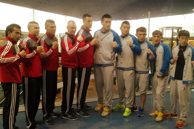 الملاكمون المغاربة ينازلون الفريق الصيني لرد الاعتبار