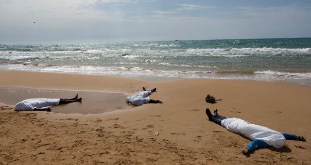 900 مهاجر سري ماتو غرقا منذ يناير