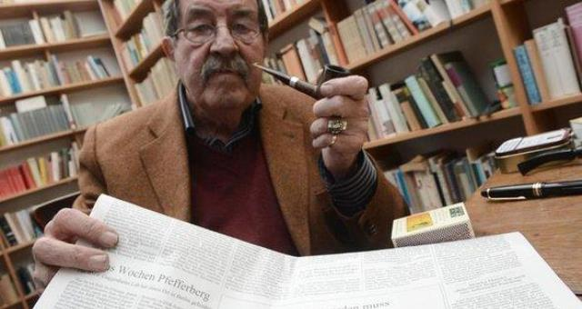الموت يغيب غونتر غراس الكاتب الألماني الشهير