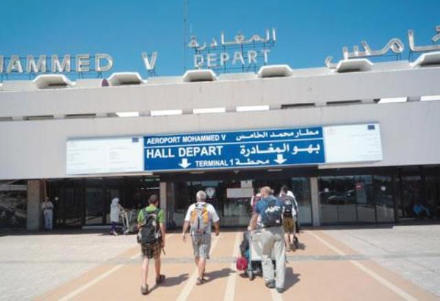 عطب تقني في مطار محمد الخامس يؤدي إلى تأخير بعض الرحلات الجوية