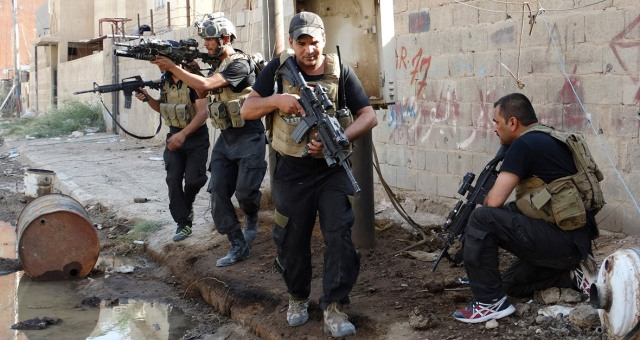 القوات العراقية تصد أكبر هجوم لداعش بصلاح الدين