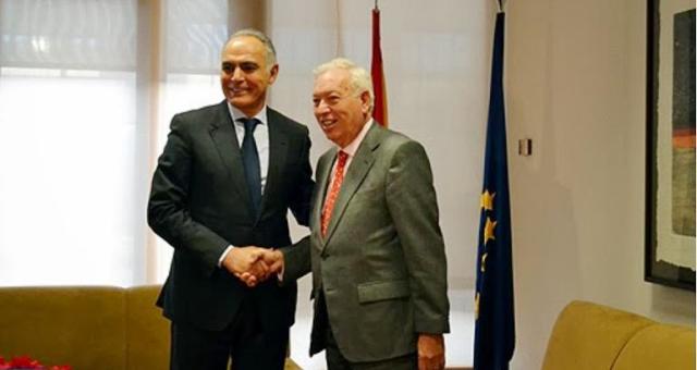 زيارة مزوار لبرشلونة تنهي أزمة بين الجارين