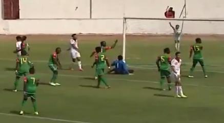 الاولمبي المغربي - منتخب بوركينافاصو :5-0
