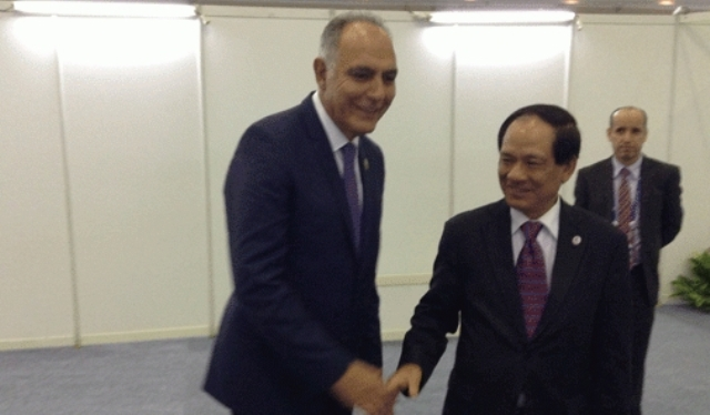 المغرب يطلب  العضوية في معاهدة الصداقة والتعاون مع منظمة  دول جنوب  شرق اسيا