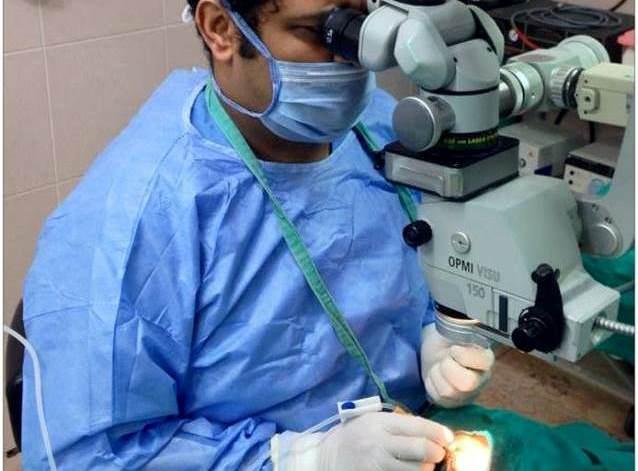لأول مرة في المغرب العربي: إجراء عملية جراحية لإزالة المياه البيضاء بتقنية الليزر