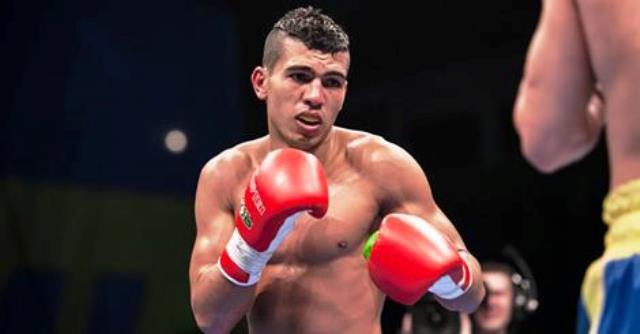 الملاكم محمد ربيعي يتأهل إلى أولمبياد البرازيل