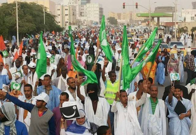 مسيرة كبيرة للمعارضة في نواكشوط تضامنا مع عمال