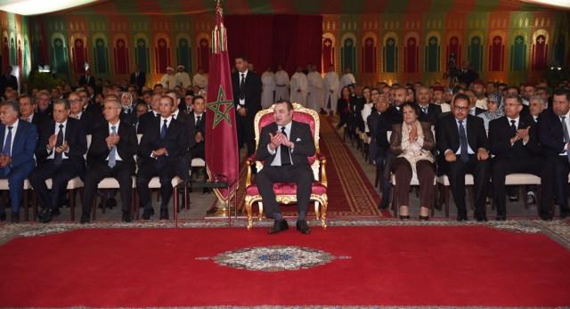 العاهل المغربي يعطي انطلاقة المخطط الإستراتيجي للتنمية المندمجة لإقليم القنيطرة