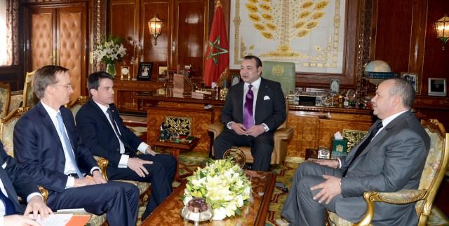 مباحثات العاهل المغربي والوزير الأول الفرنسي همت تعزيزالشراكة الاستراتيجية في مختلف المجالات