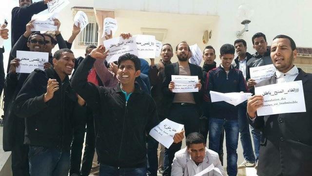 طلاب موريتانيا بتونس يحتجون والسفير يستعين بالشرطة
