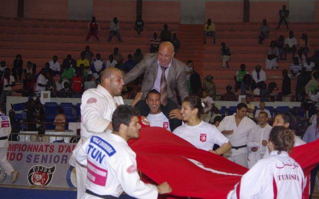 المنتخب التونسي يفوز ببطولة افريقيا للجيدو