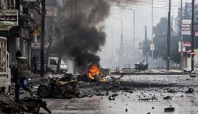 مسيرات في غزة دعما للاجئي فخيم اليرموك بدمشق