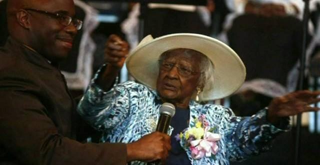أكبر معمرة في أمريكا سنها 111سنة