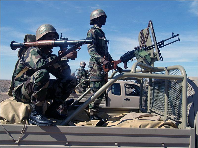 الجيش الموريتاني يحبط عملية إدخال متفجرات إلى المغرب