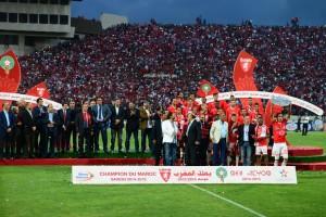 العمراني العميد يرفع درع البطولة