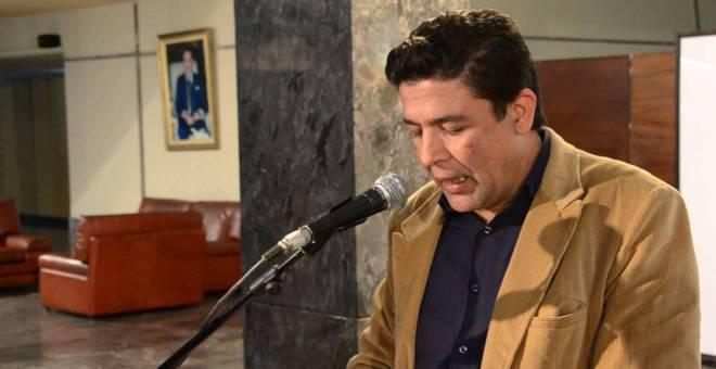 الشاعر المغربي محمد بلمو يعتذر عن حفل تكريمه