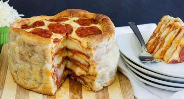 بيتزا ببروني-مشاهد24