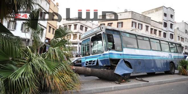 حافلة اصطدام 2 مارس