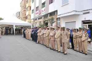 ضباط يعزون بحتي المتوفى في اليمن