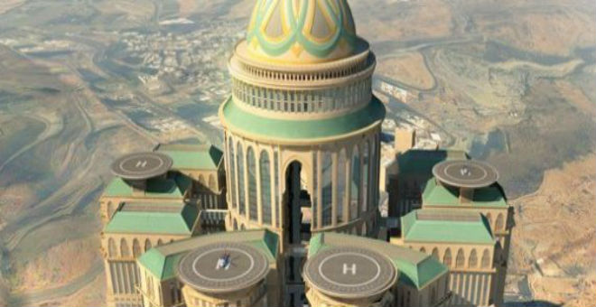أكبر مجموعة فنادق في العالم بمكة بتصميم مغربي