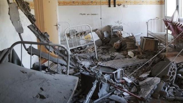 صاروخ يصيب مركزا طبيا في بنغازي ويؤدي إلى مقتل ثلاثة اشخاص