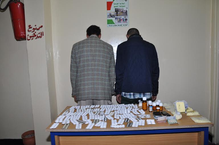 إيقاف شخصين بحوزتهما 2000 قرص مخدر في الدار البيضاء